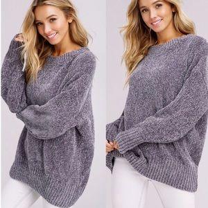 Super Soft Chenille Sweater